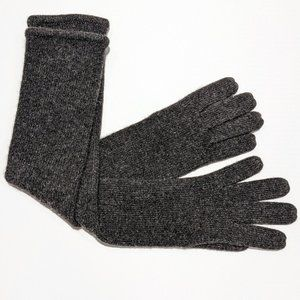 Portolano Long Solid Cashmere Gloves